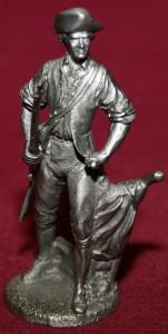 pewter minuteman figurine